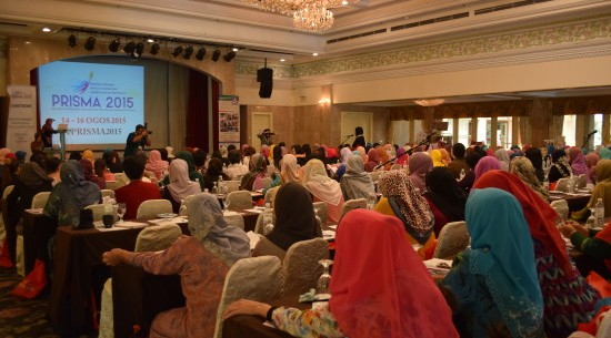 The packed ballroom at Holiday Villa, Subang Jaya, during the PRISMA 2015 conference.