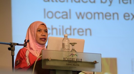 Dr Noor Haliza Yusoff: 'That is what we want – a return to normalcy or a more natural birth.'