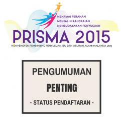 Pengumuman Penting: Status Pendaftaran